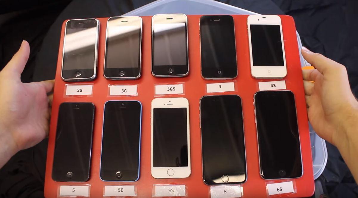 test impermeabilitate iPhone