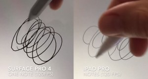 Apple Pencil vs Surface Pro 4 stylus