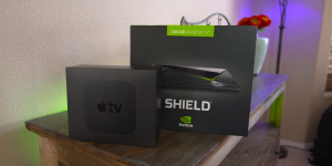 Apple TV 4 Nvidia Shield