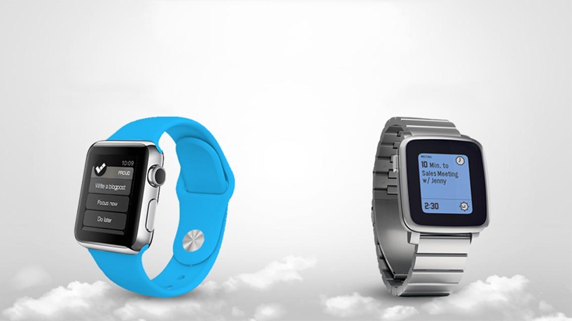 Apple Watch Pebble Steel reducere Black Friday 2015