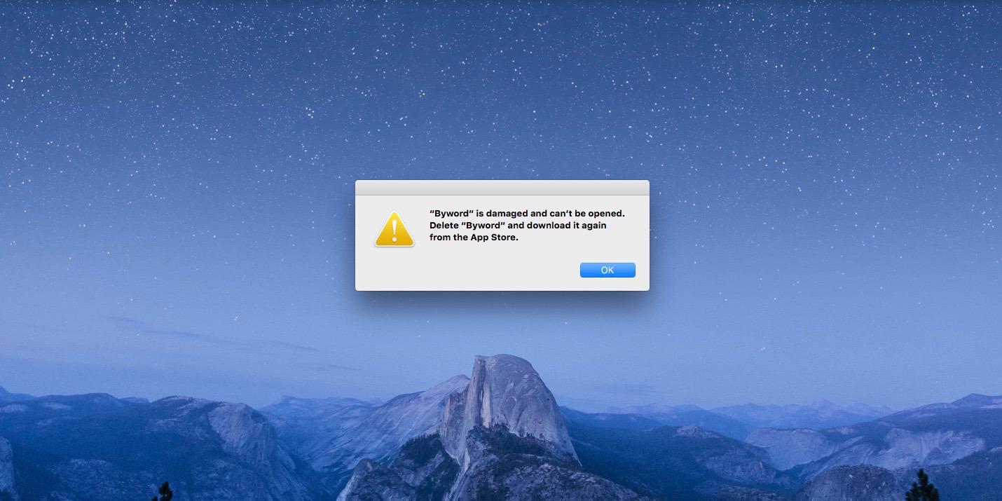 Apple scuze Mac App Store