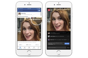 Facebook streaming video vedete