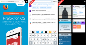 Firefox iOS App Store