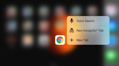 Google Chrome iOS beta 1
