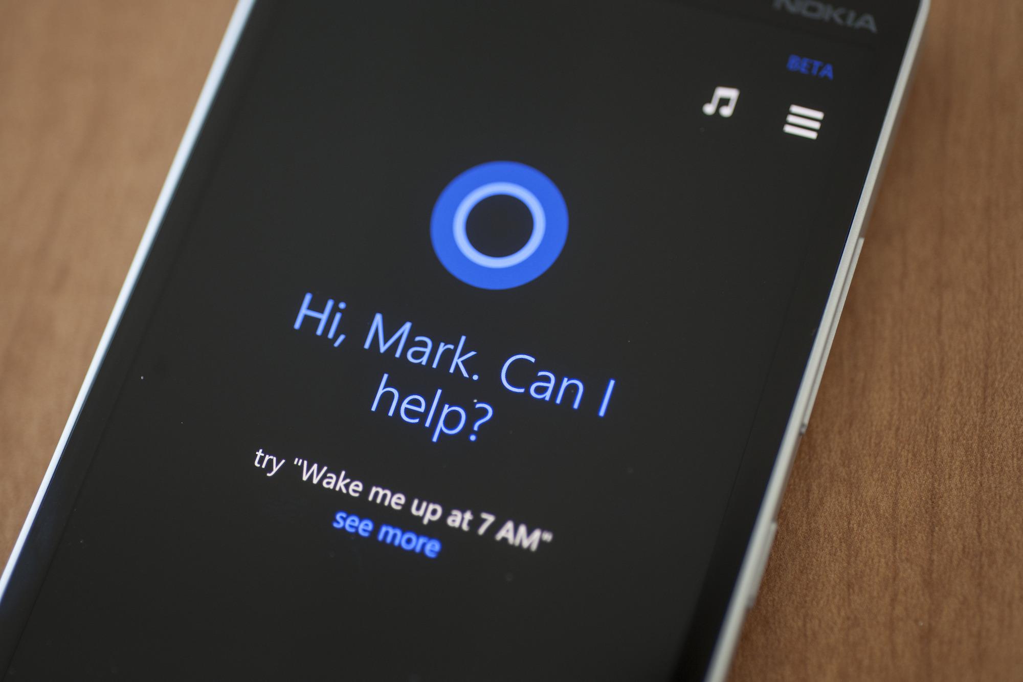 Microsoft Cortana iOS