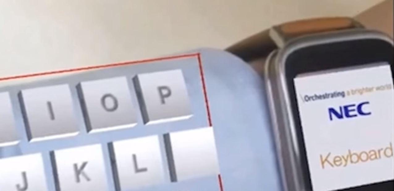 NEC tastatura mana