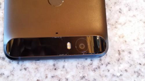 Nexus 6P panou protectie camera crapat 2