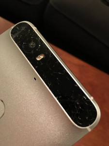 Nexus 6P panou protectie camera crapat