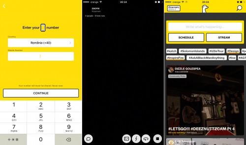 Periscope transmite IN DIRECT pe internet de pe orice smartphone iOS sau Android 1