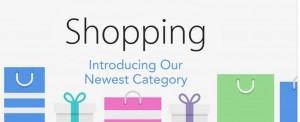 Shopping categorie App Store
