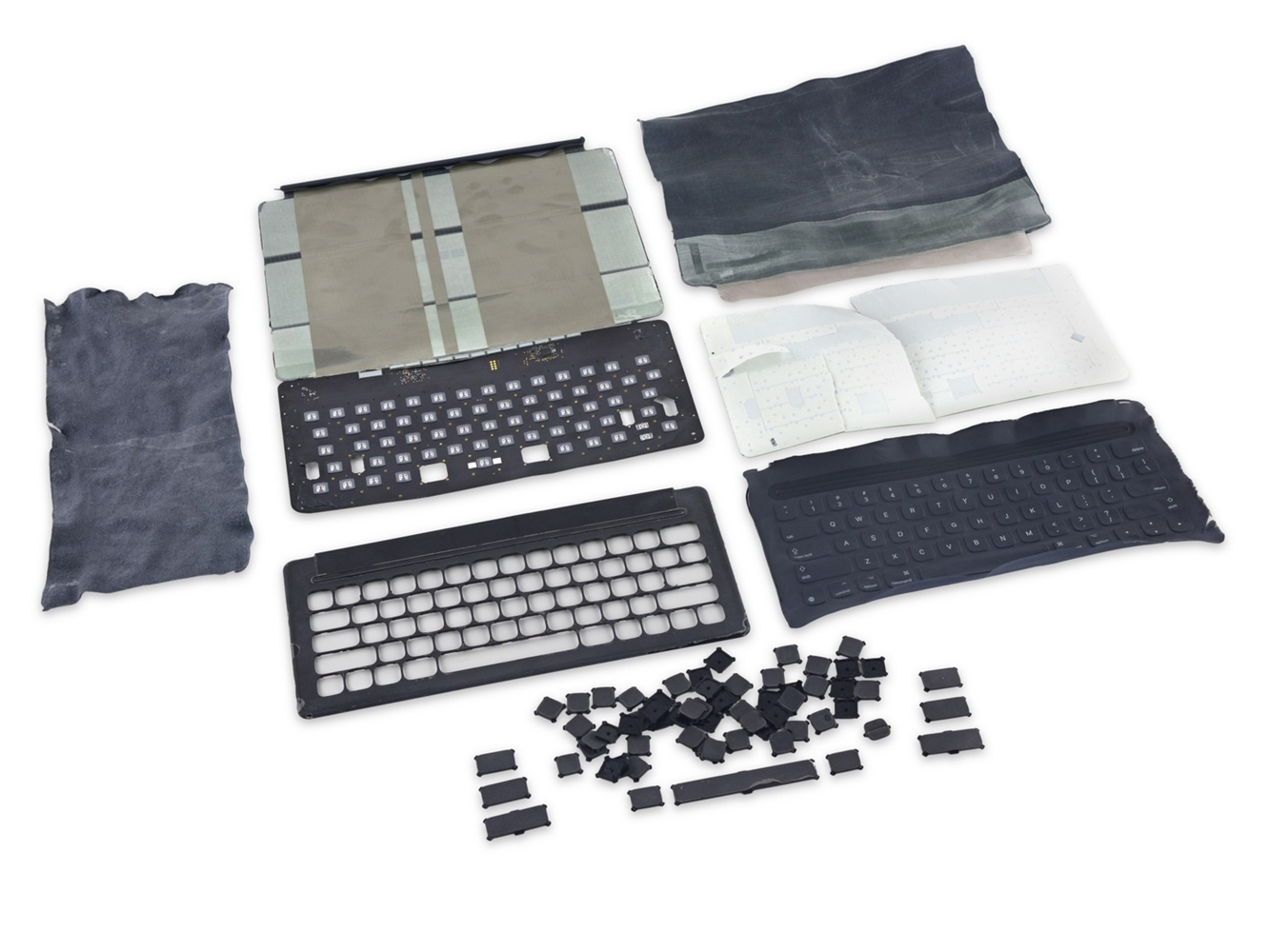 Smart Keyboard iPad Pro dezasamblare