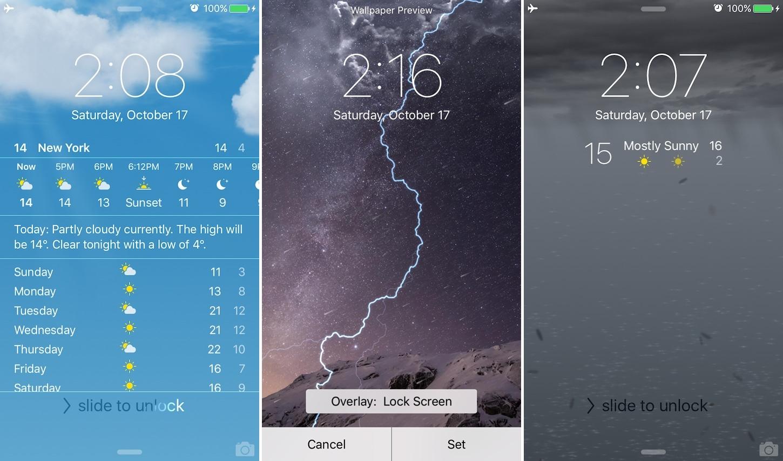 WeatherBoard 2 (iOS 9 & 8)
