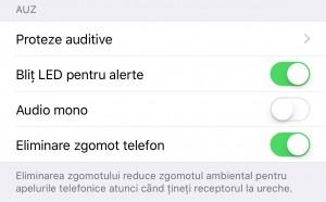 activare notificari LED iPhone