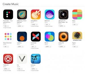aplicatii creare muzica