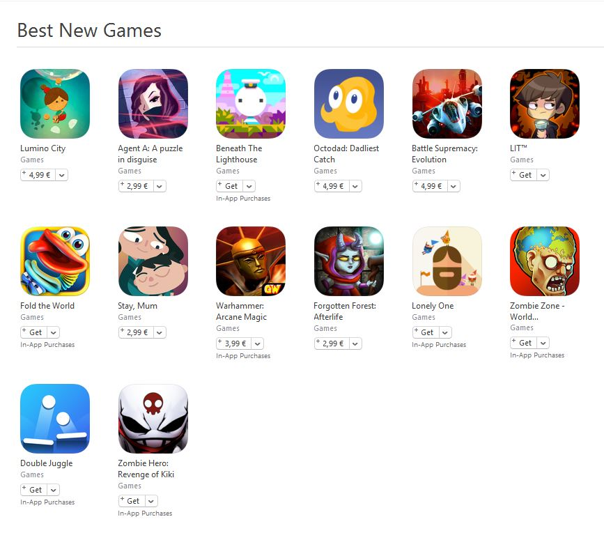 best new games octombrie