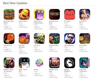 Best New Updates - cele mai bune actualizari pentru jocuri