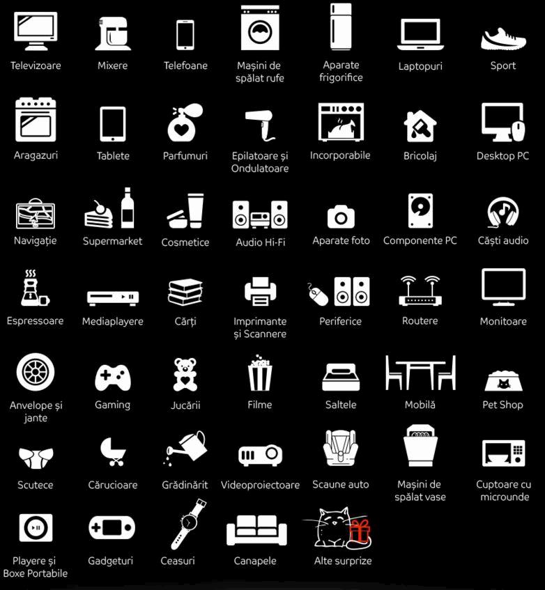 categorii produse reduceri eMAG.ro Black Friday 2015