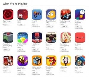 ce joaca angajatii Apple pe iPhone si iPad