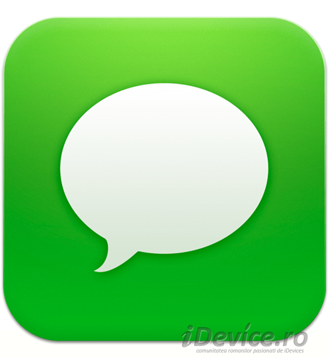 iMessage transfer de bani