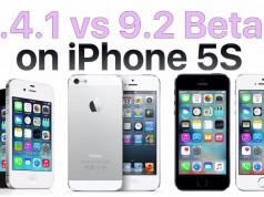 iOS 8.4.1 vs iOS 9.2 beta 4 performante
