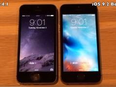 iOS 8.4.1 vs iOS 9.2 - comparatie performante
