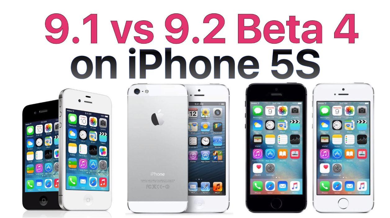 iOS 9.1 vs iOS 9.2 beta 4 performante