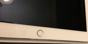 iPad Pro Touch ID auriu carcasa argintie