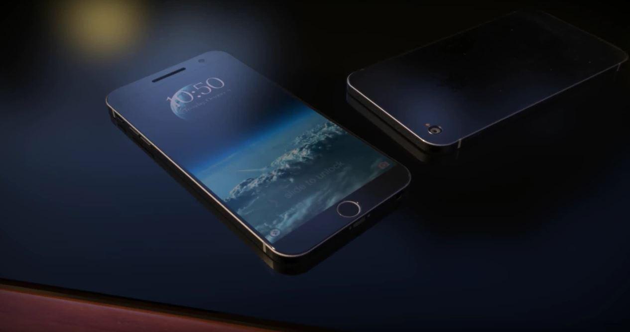 iPhone 7 concept USB 3.0 incarcare wireless