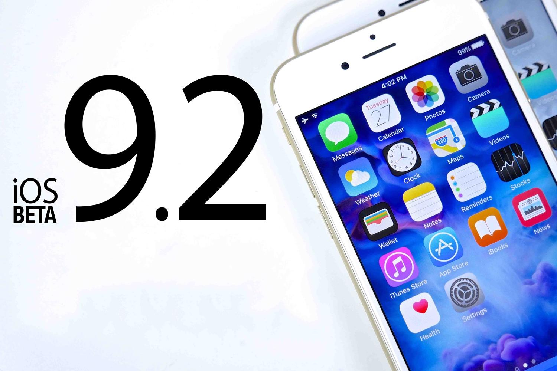 lansare iOS 9.2