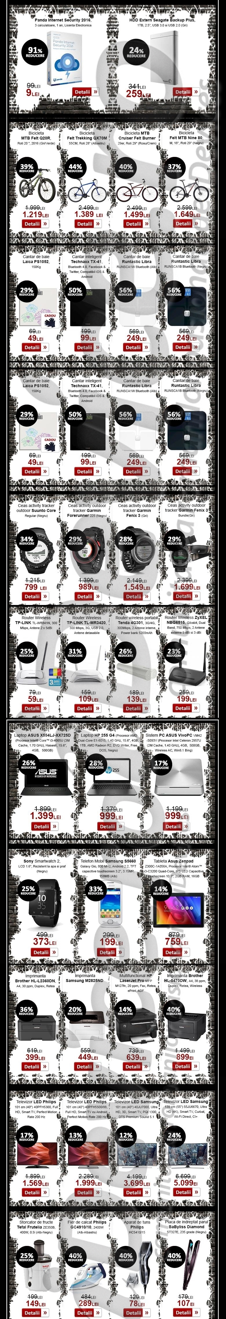 newsletter evoMAG Black Friday 2015