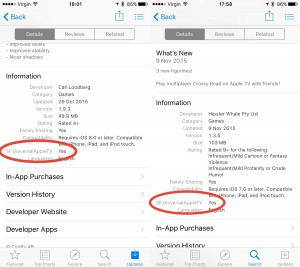 App Store aplicatii universale Apple TV