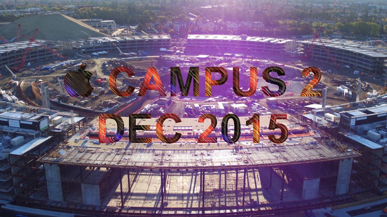 Apple Campus 2 decembrie 2015