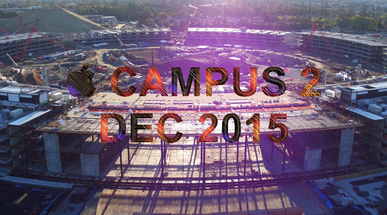 Apple Campus 2 nou decembrie 2015