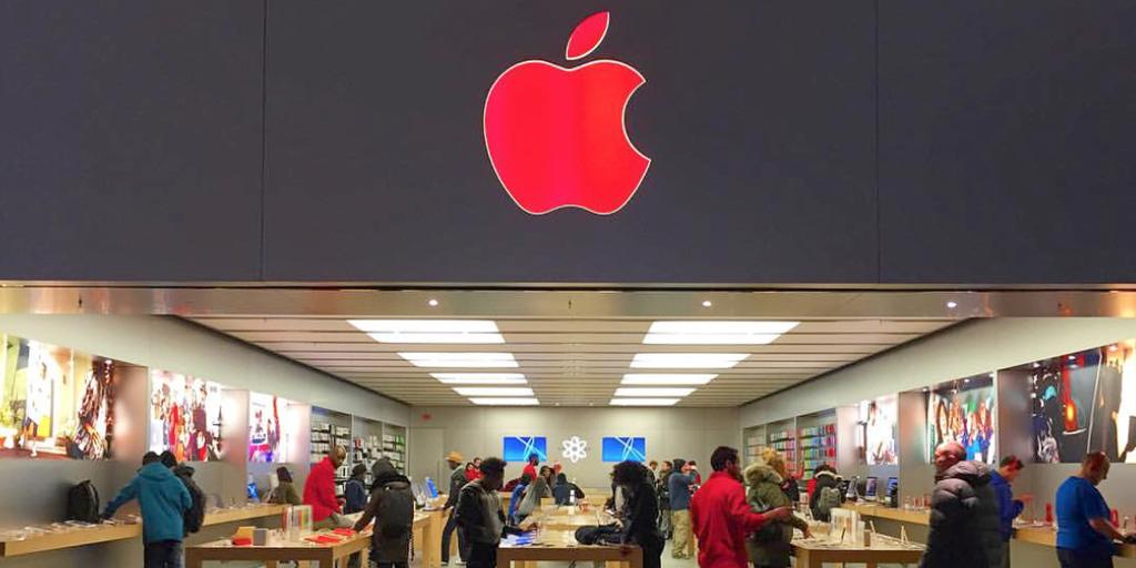 Apple ziua SIDA logo rosu