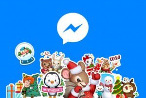 Facebook Messenger noutati Craciun