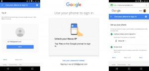 Google logare fara parola