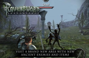 Ravensword Shadowlands reducere