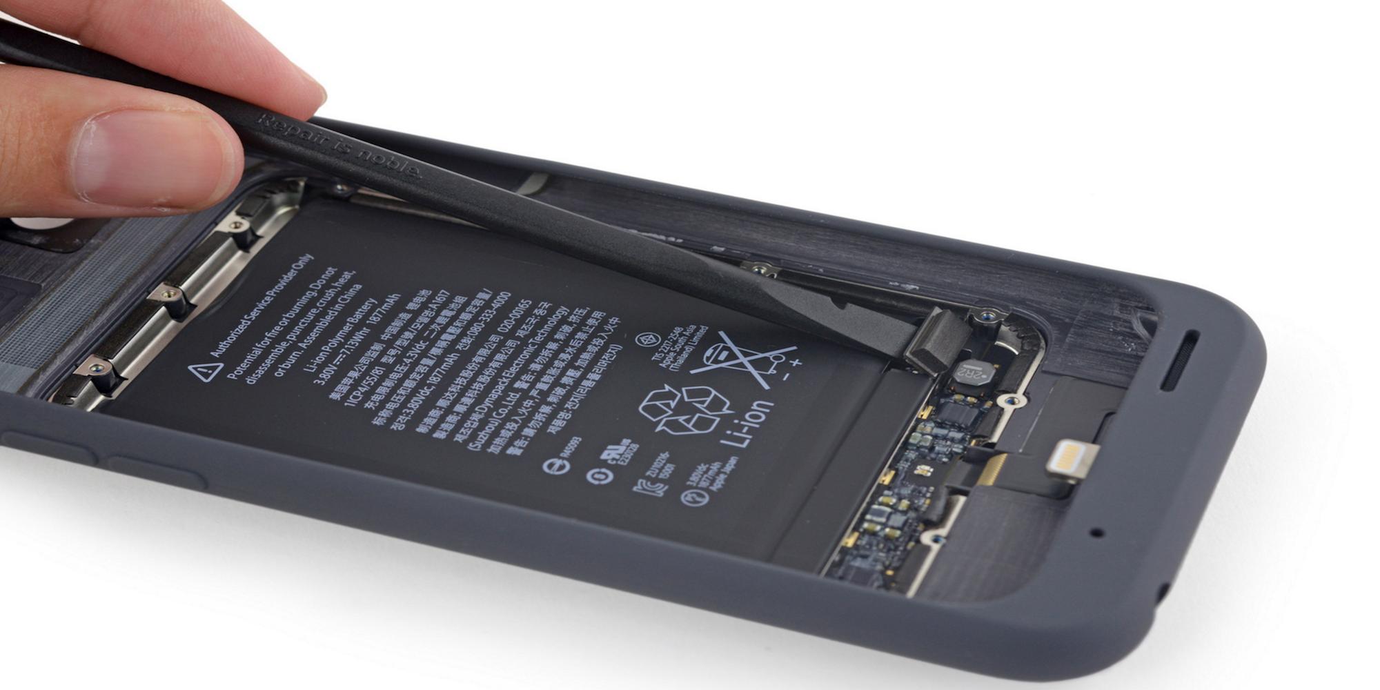 Smart Battery Case dezasamblata