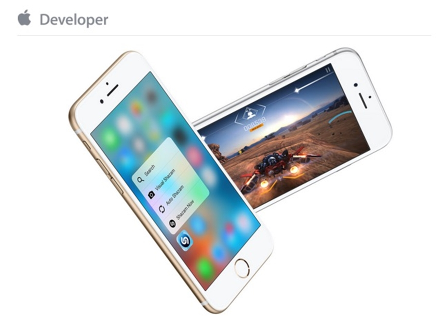 apple incurajare 3D Touch