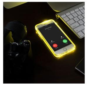 carcasa iPhone iluminare notificari