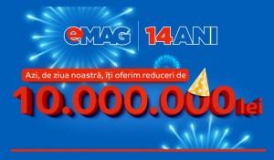 catalogul eMAG reduceri 14 ani