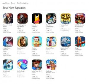 cele mai bune actualizari noi jocuri