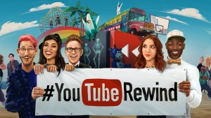cele mai urmarite video YouTube 2015