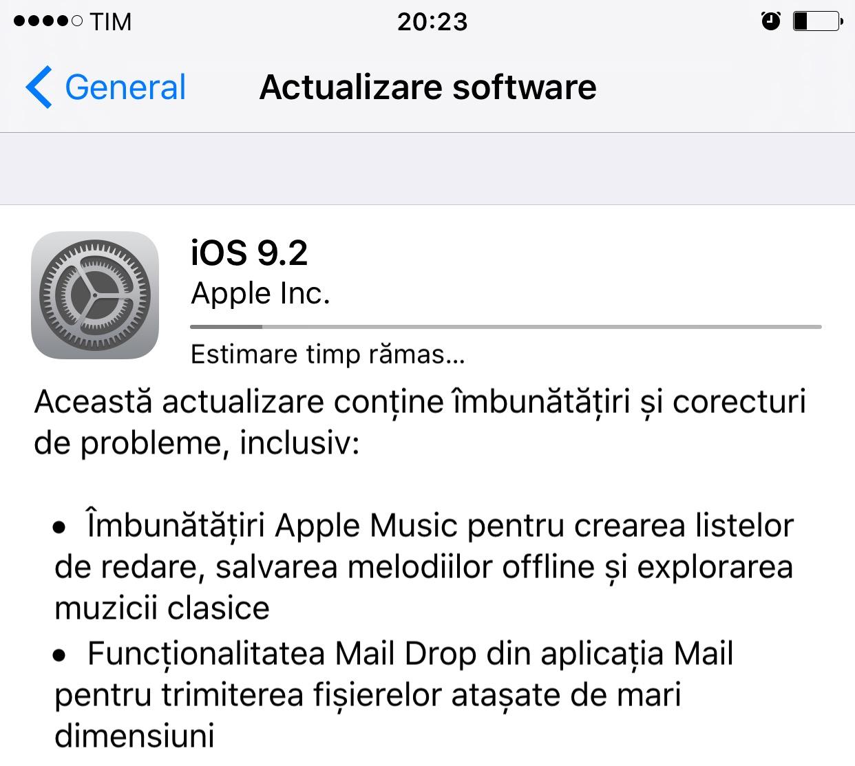 descarca iOS 9.2
