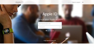 design website Apple ID