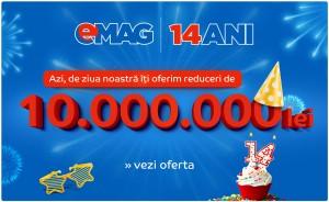 eMAG 14 ani oferta