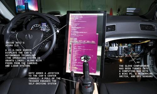 geohot masina conduce singura 1