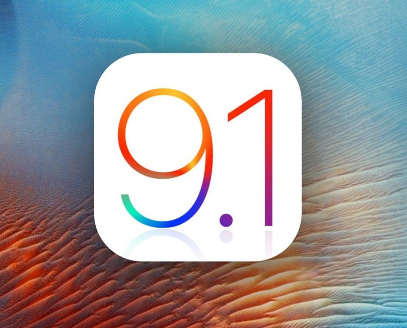 iOS 9.1 instalare Apple