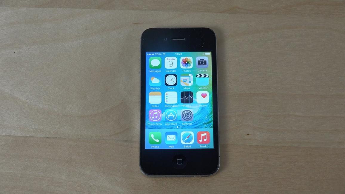 iPhone 4S performante iOS 9