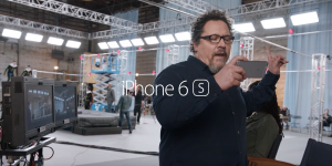 iPhone 6S reclama Jon Favreau